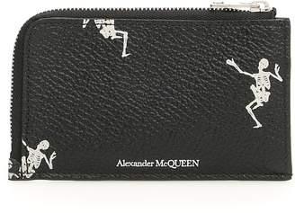 Alexander McQueen Dancing Skull Pouch