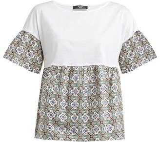 Max Mara Hobby T Shirt - Womens - Green White
