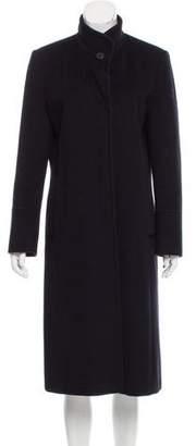 Cinzia Rocca Long Wool-Blend Coat