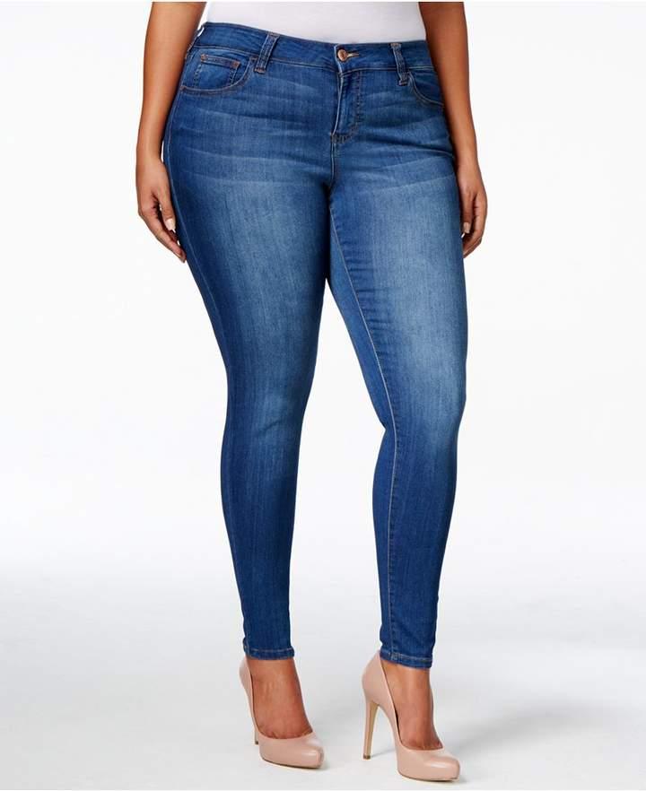 Celebrity Pink Petite Plus Size Infinite Stretch Dawson Super-Skinny Jeans