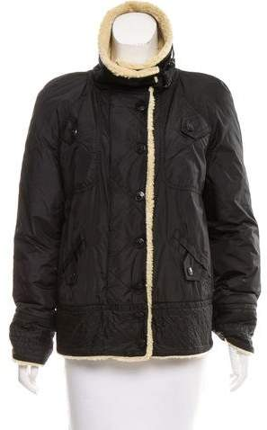 Marc by Marc Jacobs Casual Zip-Up Coat