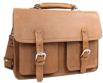 "Vagabond Traveler 17"" MacBook Pro - 18"" Leather Briefcase LB01.BRN"