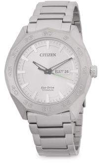 Citizen Classic Titanium Bracelet Watch