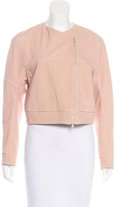 Brunello Cucinelli Leather Zip-Up Jacket