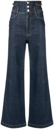Dolce & Gabbana flared loose jeans