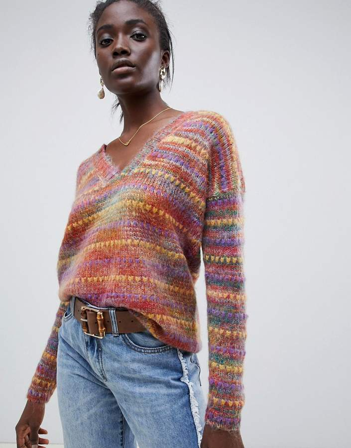 Intropia rainbow spacedye jumper