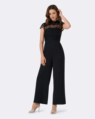 Forever New Leona Lace Wide Leg Jumpsuit