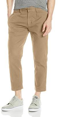 Obey Men's Latenight Flooded Pant Ii