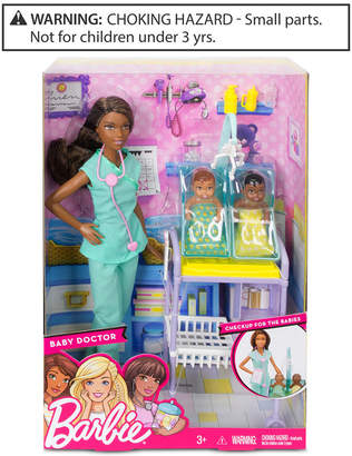 Barbie Mattel's Baby Doctor Doll & Playset