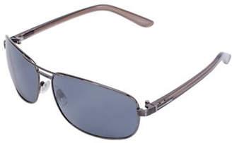 Dockers Navigator 61mm Aviator Sunglasses