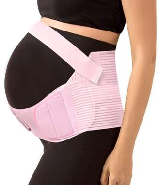 Unique Bargains (Pink,S) Maternity Support Belt Pregnancy Belly Band Antepartum Abdominal Back Support