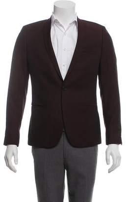 The Kooples Wool Woven Blazer