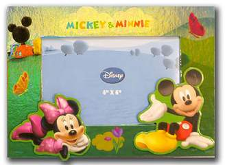 Disney Mickey & Minnie Mouse Picnic Photo Picture Frame