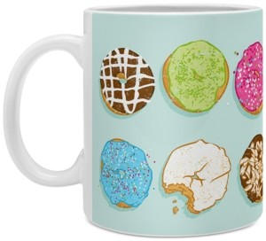 Deny Designs Evgenia Chuvardina Sweet Donuts Coffee Mug