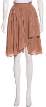 Just Cavalli Pleated Knee-Length Skirt