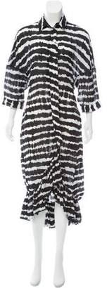 Preen by Thornton Bregazzi Printed Maxi Dress