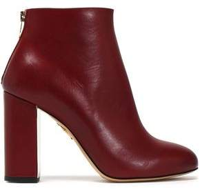 Charlotte Olympia Leather Ankle Boots