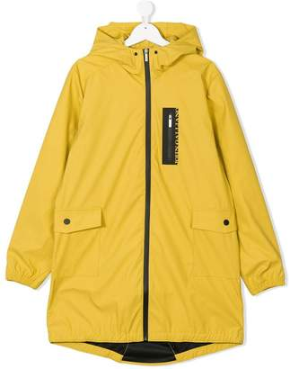 John Galliano TEEN logo rainwear coat