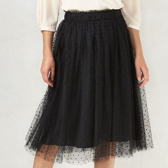 Disney's Snow White A Collection by LC Lauren Conrad Swiss Dot Tulle Skirt - Women's $64 thestylecure.com