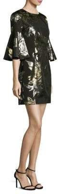Trina Turk Rachelle Metallic Jacquard Mini Dress