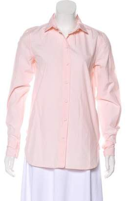Celine Long Sleeve Button-Up Top