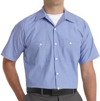 Men's Red Kap Industrial Striped Work Shirt