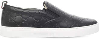 Gucci Dublin GG leather skate shoes