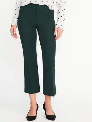 Old Navy Mid-Rise Pixie Flare Ankle Pants for Women
