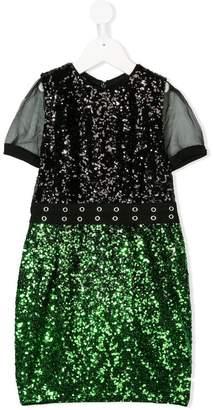 Diesel sequinned dress
