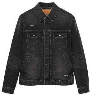 Mango Man MANGO MAN Dark grey wash denim jacket