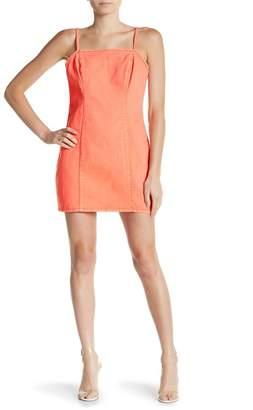 MinkPink Solid Knit Dress