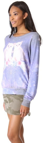 Wildfox Couture Fortunes Fool Baggy Beach Sweatshirt