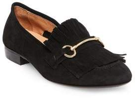 Steve Madden Steven by Suede Horse-Bit Loafers