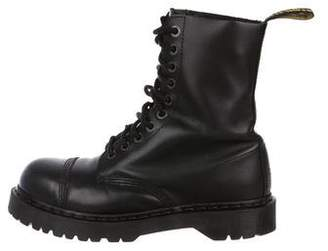Dr. Martens Steel-Toe Leather Boots