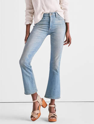 Lucky Brand BRIDGETTE HIGH RISE CROPPED BOOT JEAN IN SEACLIFF