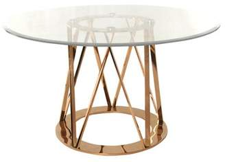 Orren Ellis Mayall Round Metal Dining Table