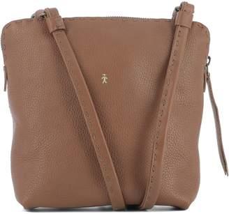 Henry Beguelin Brown Leather Shoulder Bag