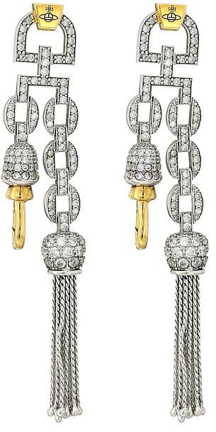 Vivienne WestwoodVivienne Westwood - Electra Clasp Earrings Earring