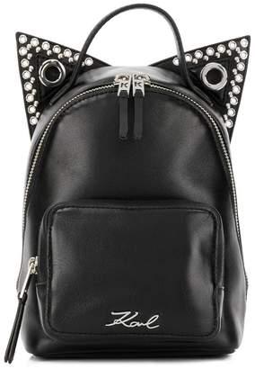 Karl Lagerfeld Rocky Choupette backpack