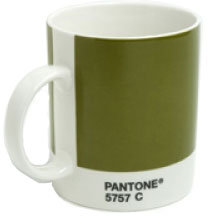 Whitbread Wilkinson Pantone Mug in Olive Green