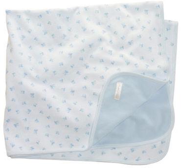 Ralph Lauren Newborn Boys 0-9 Months Block-Print Receiving Blanket