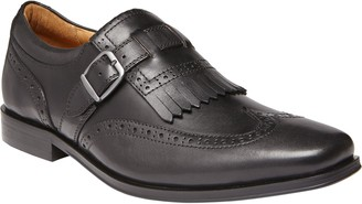 Vionic Men's Leather Monk Strap Dress Shoes - Harrison