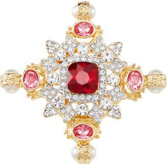 Kenneth Jay Lane Multi-Crystal Pin