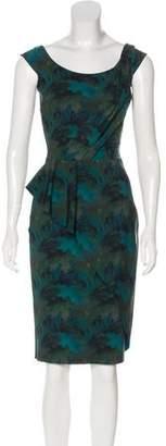 Chiara Boni Sleeveless Knee-Length Dress w/ Tags