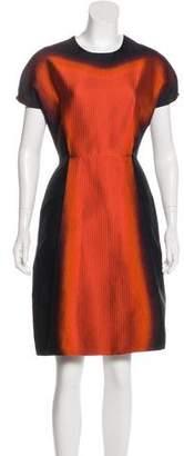 Prada Silk Printed Dress