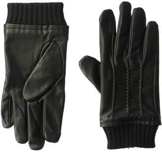 Tommy Hilfiger Unisex M Point Winter Glove with Rib Knit Cuff