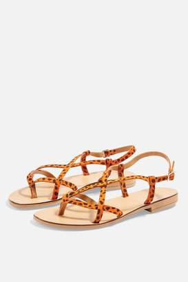 Topshop Womens Hayley Sandals - Orange