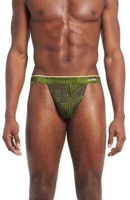 Men's 2(X)Ist Sliq Microfiber Thong $26 thestylecure.com