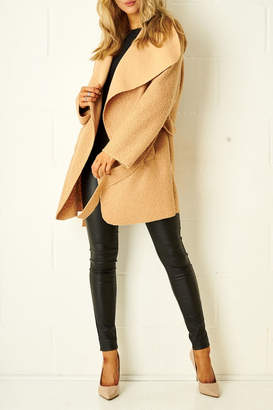 Frontrow Teddy Camel Coat