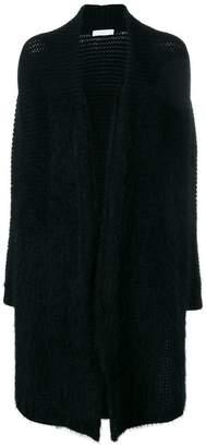 Cruciani panelled long cardigan